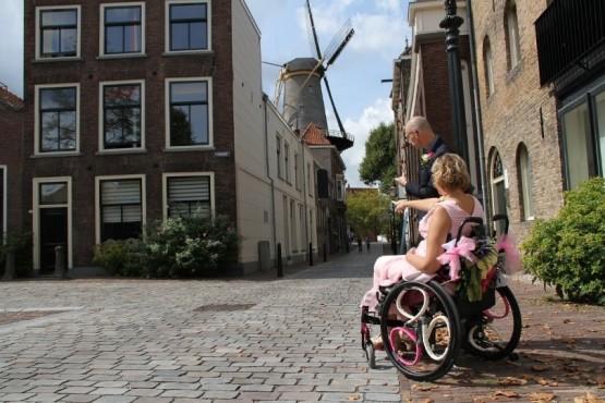 Gina in rolstoel