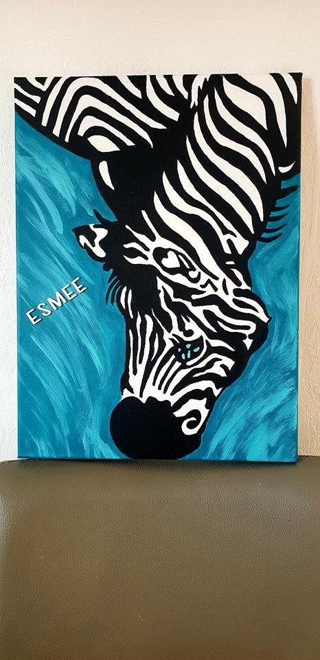 Schilderij Esmee